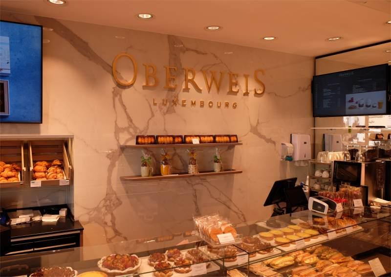 Oberweis Luxembourg in Trier Hauptmarkt