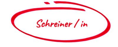 Jobanzeige Schreiner m-w-d